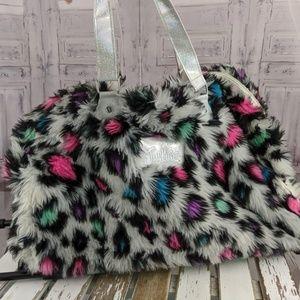 justice travel cheetah bag luggage large rolling l